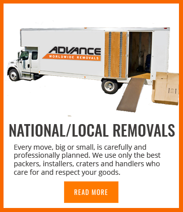 advance worldwide removals